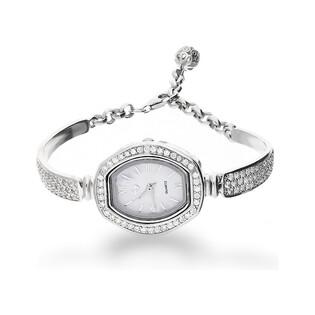 Zegarek cyrkonie beczułka m.perłowa AT Z0019 próba 925