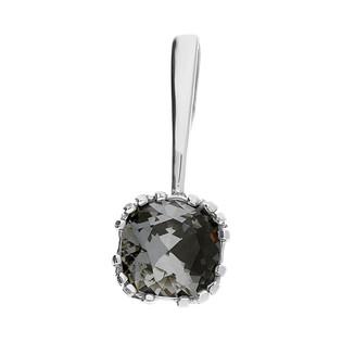 Zawieszka srebrna z kryształem Swarovski kolekcja Brilas nr KP 05550 Silver Night próba 925