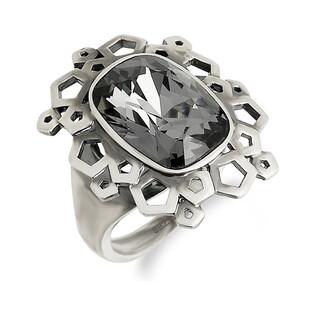 Pierścionek srebrny z kryształem Svarowski nr KP 05107 Sezam - 1